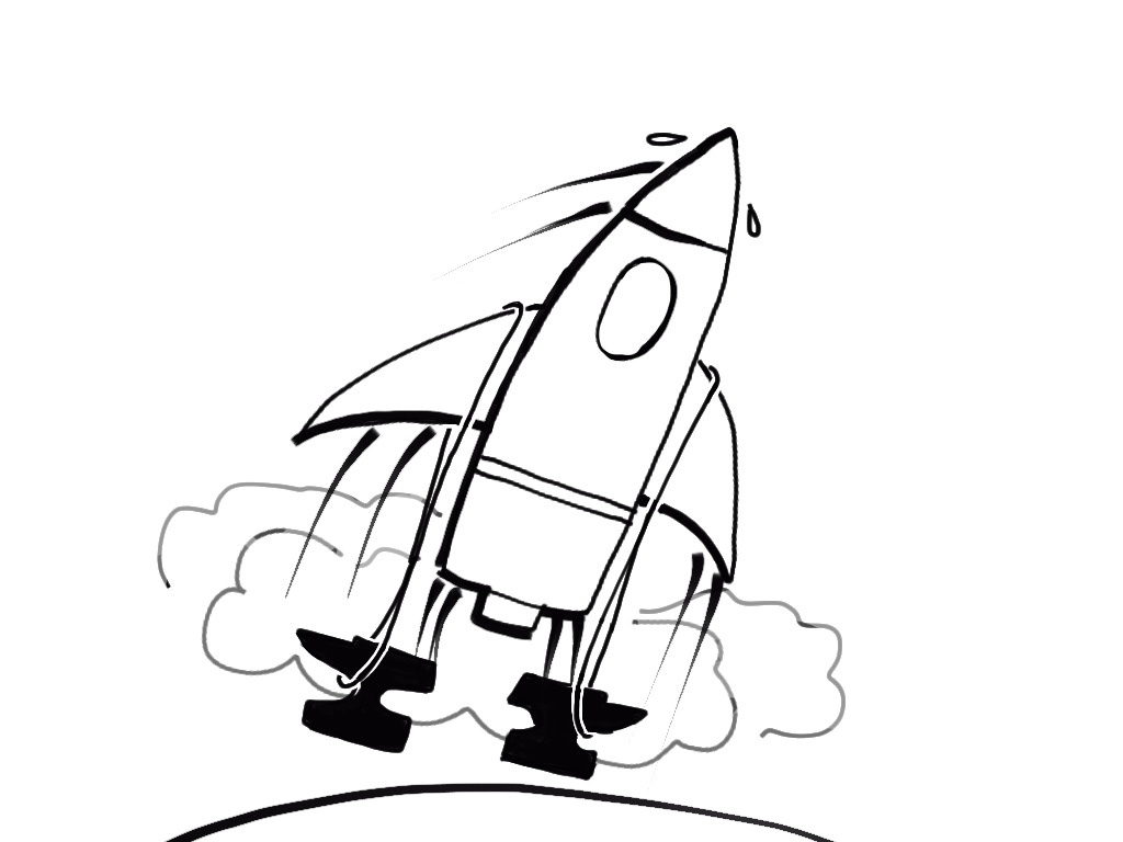 rocket + anvils